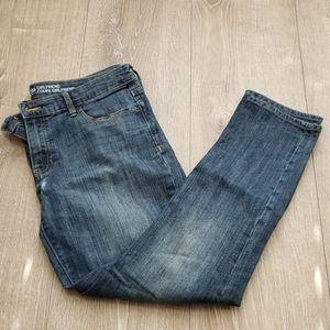 Gap Girlfriend Crop Jeans 8/29R